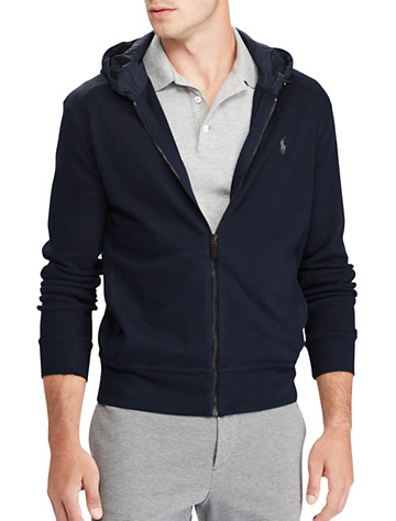 Polo Ralph Lauren® Estate Rib Full-Zip Hoodie | Long Sleeve Knits