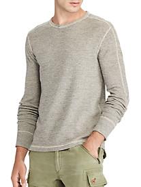 Polo Ralph Lauren® Waffle-Knit Cotton T-Shirt
