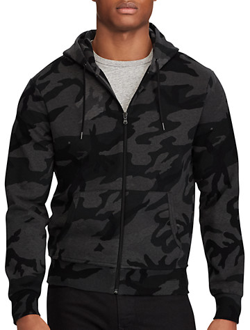 8864c4545 Big & Tall Polo Ralph Lauren 174 Camo Double-Knit Hoodie | Pretty ...