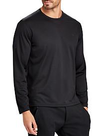 Polo Ralph Lauren® Performance Classic Fit Micro-Dot Long-Sleeve T-Shirt