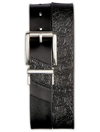 Robert Graham® Potter Reversible Embossed Leather Belt