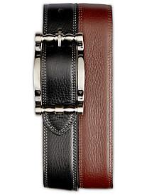 Robert Graham® Cedar Big Buckle Reversible Leather Belt