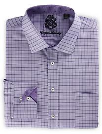 English Laundry™ Oxford Grid Dress Shirt