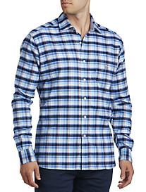 Psycho Bunny Plaid Flannel Shirt