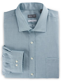 Michael Kors® Non-Iron Textured Solid Stretch Dress Shirt