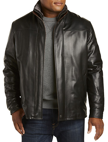 Remy Lambskin Jacket with Shearling Collar - $1495.00