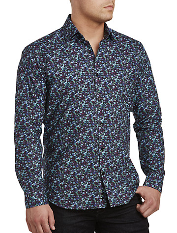 Jared Lang Multi Berry Print Sport Shirt