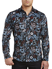 Jared Lang Fruit Print Sport Shirt