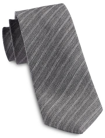 Jack Victor® Heathered Thin Stripe Silk Tie