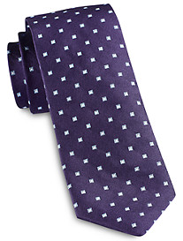 Jack Victor Square Mini Geo Silk Tie
