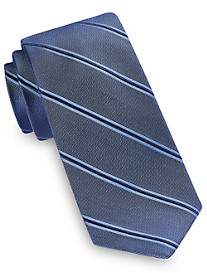 Michael Kors® Dress Stripe Shadow Silk Tie