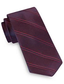 Michael Kors Dress Stripe Shadow Silk Tie