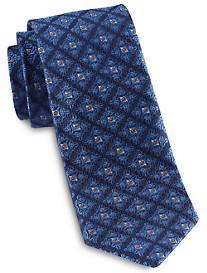 Robert Talbott Traditional Diamond Medallion Silk Tie