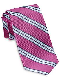 Robert Talbott Double Stripe Silk Tie
