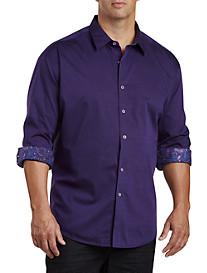 Robert Graham® DXL Jacquard Patterned Sport Shirt