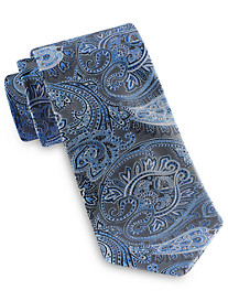 Rochester Large Exploded Paisley Silk Tie