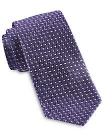 Rochester Designed in Italy Small Geo Neat Silk Tie