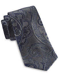 Rochester Designed in Italy Large Tonal Paisley Silk Tie