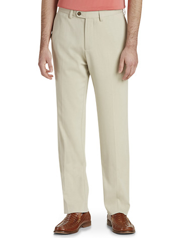 Tommy Bahama® St. Thomas Flat-Front Pants - Available in abbey stone