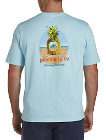 Tommy Bahama® Pineapple TV Graphic Tee