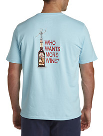 Tommy Bahama® Who Wants More Wine Graphic Tee