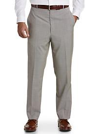 Ballin® Mini Houndstooth Comfort-EZE Flat-Front Dress Pants