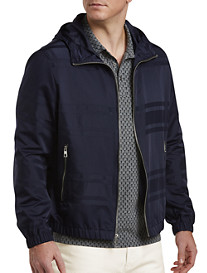 Michael Kors® English Stripe Nylon Windbreaker