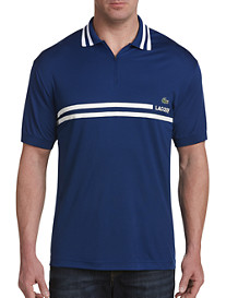 Lacoste Zippered Colorblock Polo