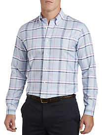 Brooks Brothers® Non-Iron Viola Plaid Oxford Sport Shirt