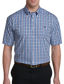 Brooks Brothers Non-Iron Multi Plaid Poplin Sport Shirt