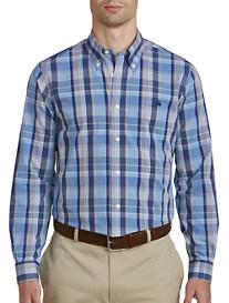 Brooks Brothers® Non-Iron Madras Poplin Sport Shirt