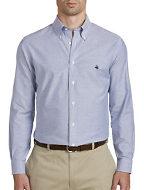 Brooks Brothers Non-Iron Solid Oxford Sport Shirt