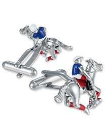 Link Up Jockey Cuff Links