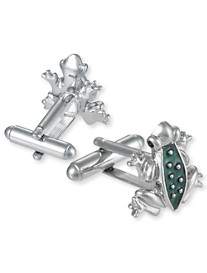 Link Up Tree Frog Cuff Links