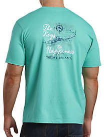 Tommy Bahama® Keys to Happiness Graphic Tee