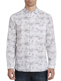 Tommy Bahama® Tropical Toile IslandZone® Sport Shirt