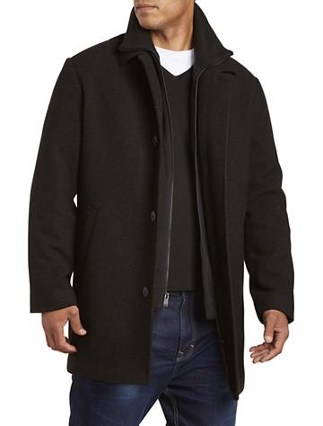 Calvin Klein® Zale Patterned Overcoat