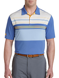 adidas® Golf Ultimate Colorblock Stripe Polo
