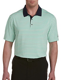 adidas® Golf 3-Color Stripe Ultimate Polo