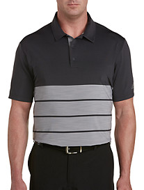 adidas Golf Ultimate Stripe Colorblock Polo