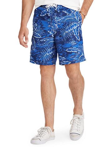 368d7b0ccf Big & Tall Polo Ralph Lauren 174 Kailua Tropical Swim Trunks thumbnail