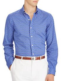 Polo Ralph Lauren Classic Fit Geometric-Print Poplin Sport Shirt