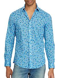 Polo Ralph Lauren Classic Fit Floral-Print Poplin Sport Shirt