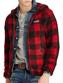 Polo Ralph Lauren® Buffalo Plaid Fleece Full-Zip Hoodie