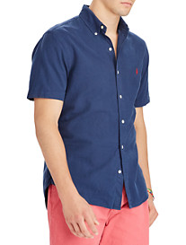 Polo Ralph Lauren® Classic Fit Garment-Dyed Solid Oxford Sport Shirt