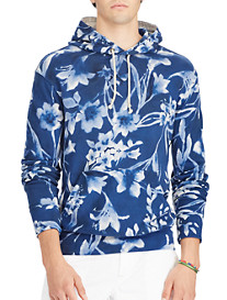 Polo Ralph Lauren® Floral Cotton Spa Terry Hoodie