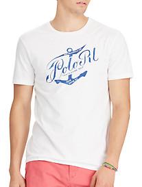 Polo Ralph Lauren® Classic Fit Anchor Graphic T-Shirt