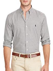 Polo Ralph Lauren Classic Fit Plaid Twill Sport Shirt