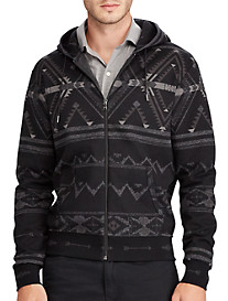 Polo Ralph Lauren® Double-Knit Print Hoodie