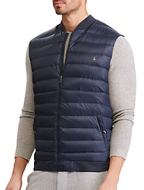 Polo Ralph Lauren® Down-Panel Double-Knit Vest
